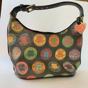 DOONEY & BOURKE Vintage Medallion Bucket Purse